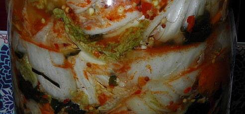Kimchi s paprikou