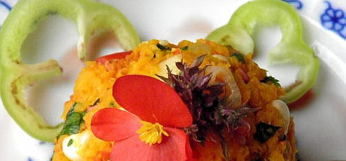 Raw vegan jesenný zeleninový tatarák