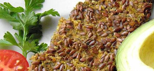 Raw vegan bezlepkový tekvicový chlieb