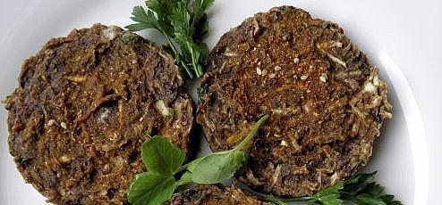 Raw vegan fašírky z zeleru