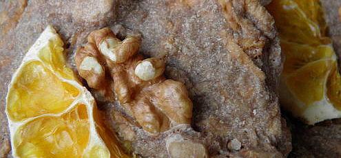 Raw vegan jablkové sušienky spomarančom