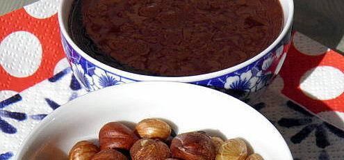 Raw vegan oriešková nutella