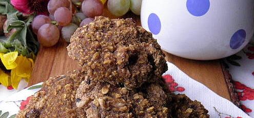 Raw vegan tekvicové koláčiky sovocím
