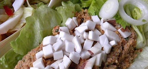Raw vegan tekvicová nátierka smladým kokosom