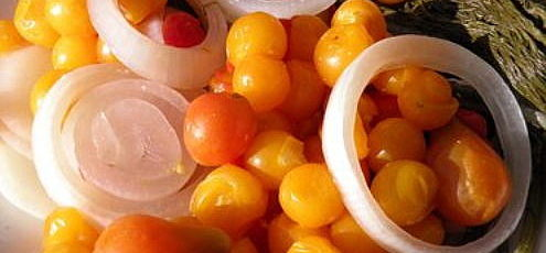 Fermentované zrelé paradajky