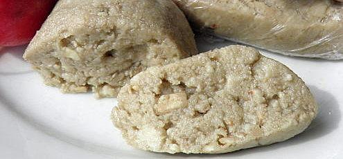 Raw vegan slnečnicovo-arašidové maslo